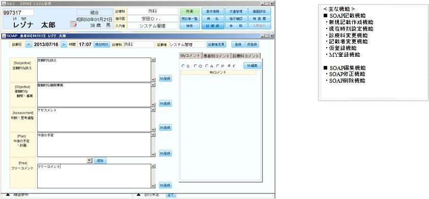 電子カルテシステム i-MEDIC 電子カルテシステム 総合介護支援 ...